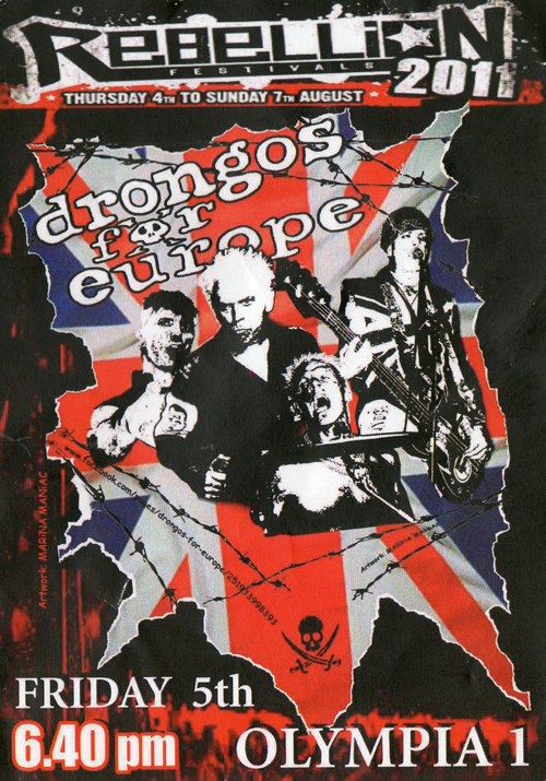 Drongos For Europe Eternity