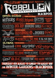 Rebellion 2011, Blackpool